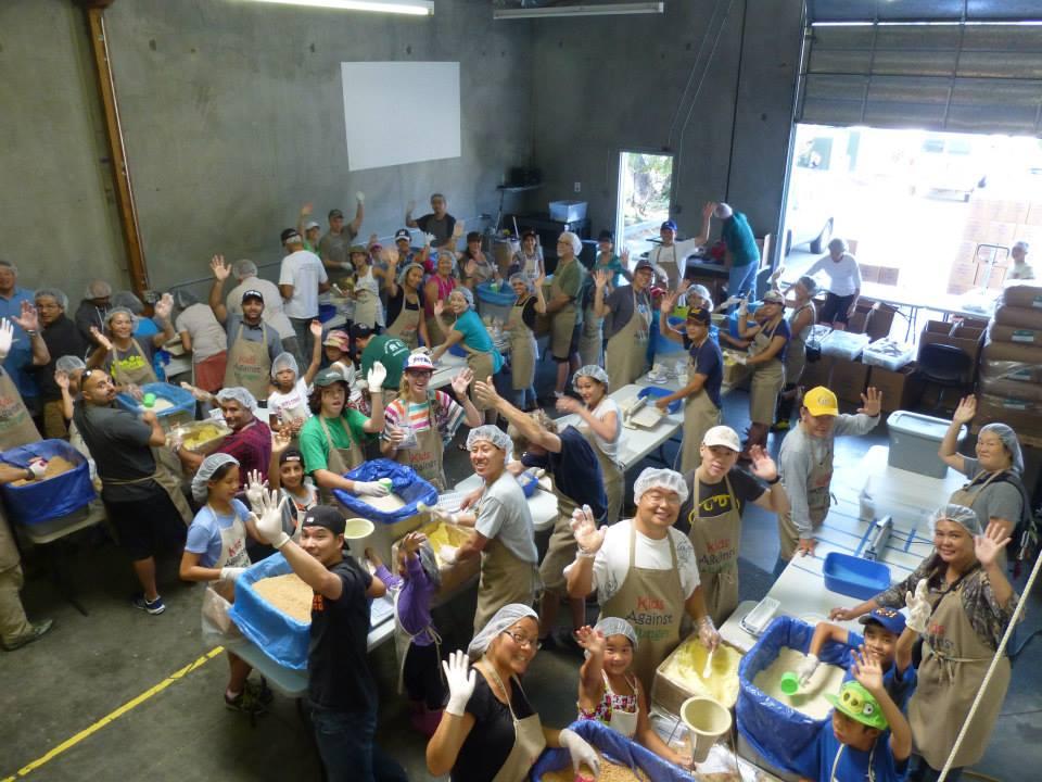 Kids Against Hunger - Pop Up Gelato