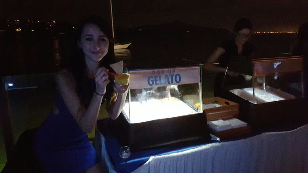 Pop Up Gelato Party Catering