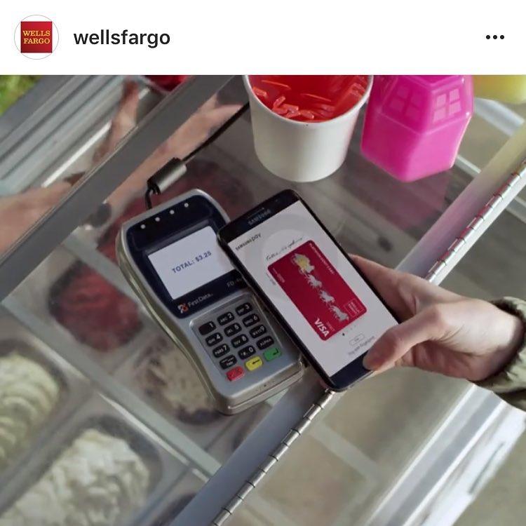 We totally recognize that gelato in that new WellsFargo commercialhellip